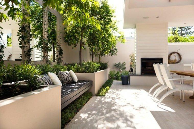 muebles para jardines modernos