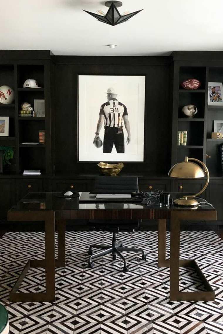 interior de oficina masculina