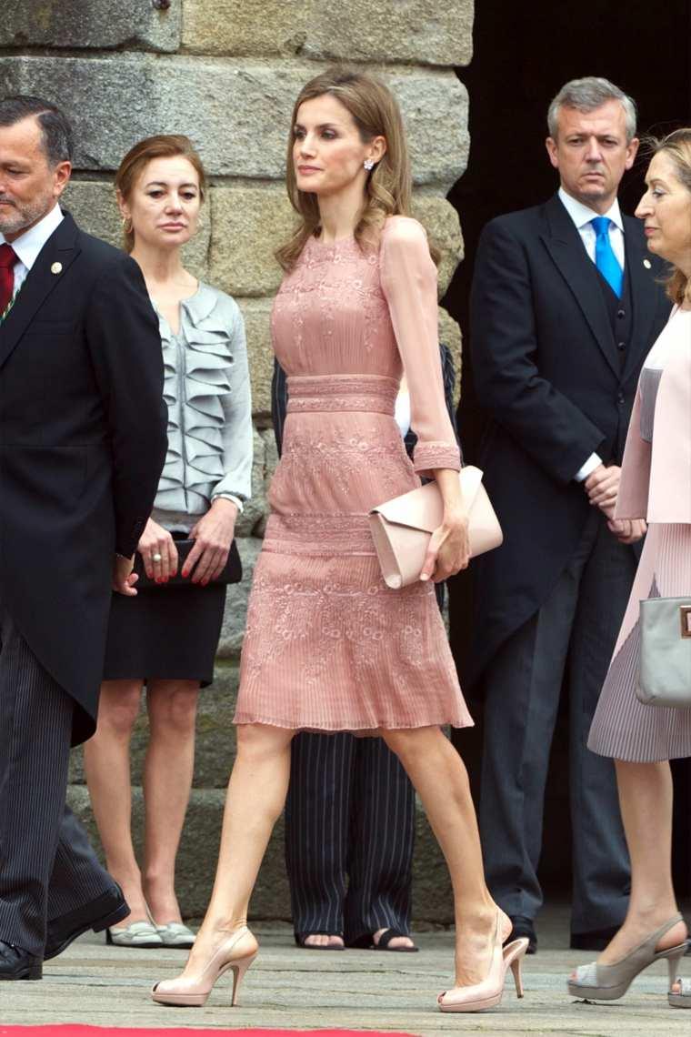 La Reina Letizia sobre la alfombra roja