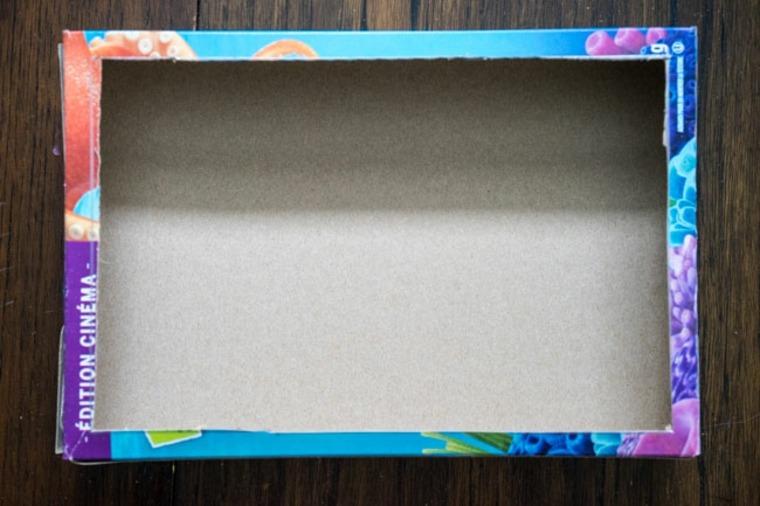 Manualidades para niños con caja de carton