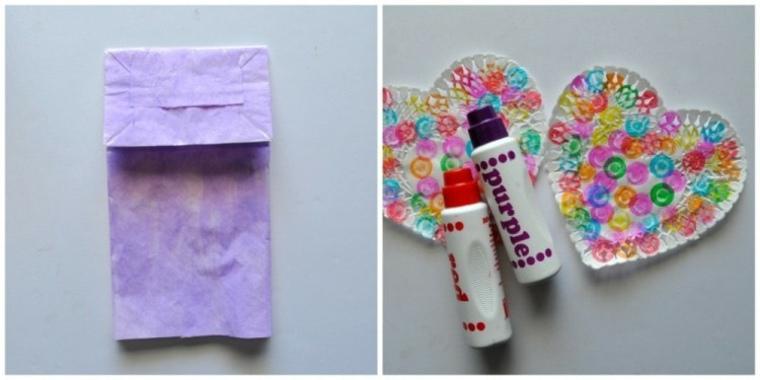 Haciendo mariposa juguete casero