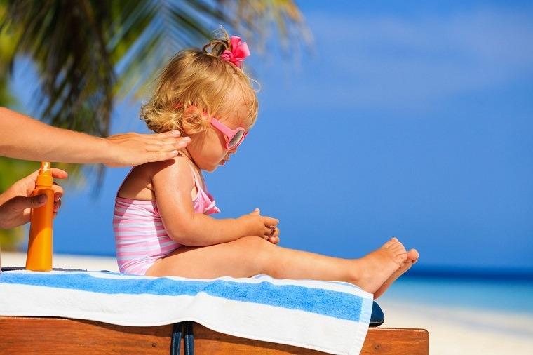 protector solar natural para niños