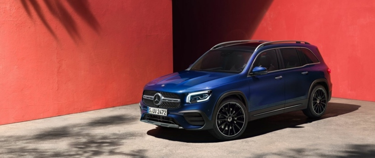coches deportivos - Mercedes-Benz GLB