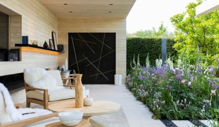 amueblar jardines modernos