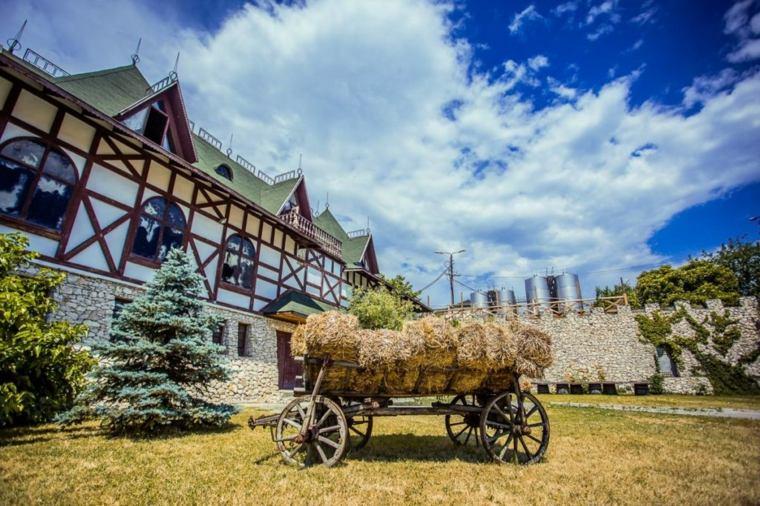 paisaje en Moldavia