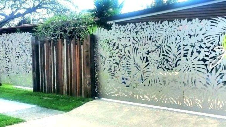 vallas de jardín