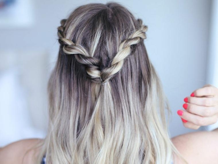 Peinado de verano: el doble giro