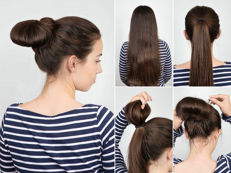 Peinado de verano, el moño ligero