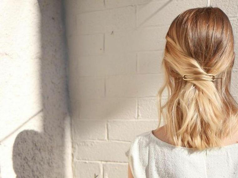 Peinado de verano: el toque simple