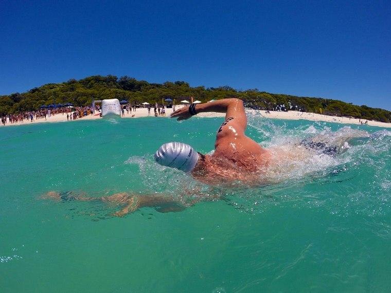 perder peso nadando profesionalmente