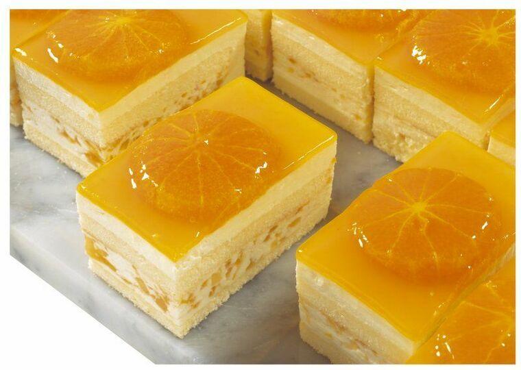 postres frios rapidos tarta naranja