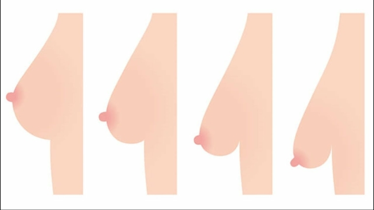 Trucos para reafirmar los senos caídos