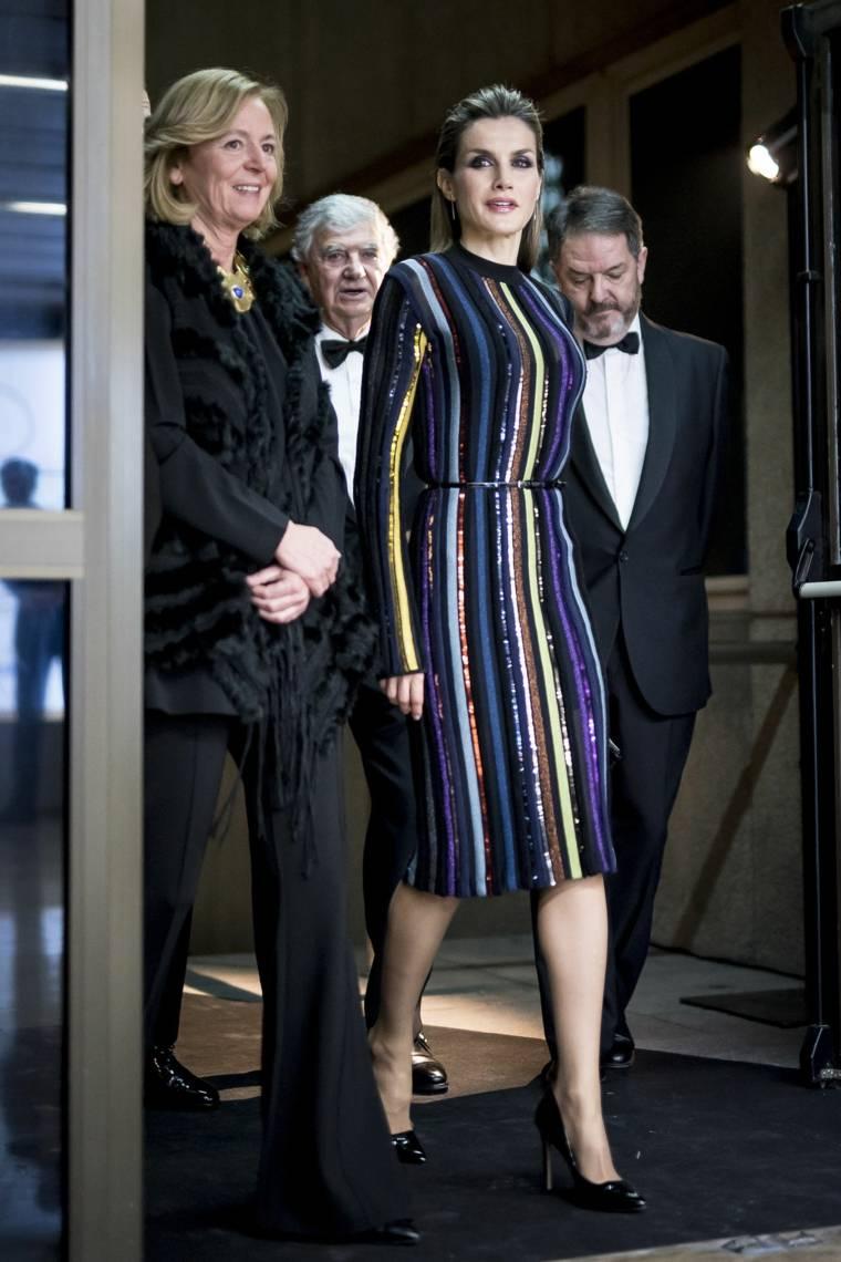 Reina Letizia Ortiz vestido