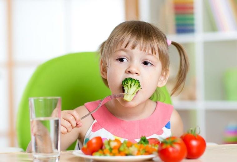 alimentos sanos para niños