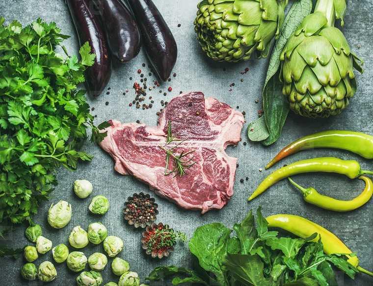 rutina para bajar de peso-consejos-comer-verdura