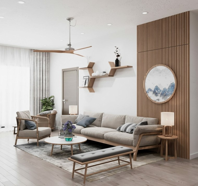 salon-moderno-ideas-uso-madera