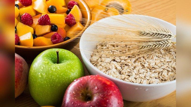 salud fibra frutas