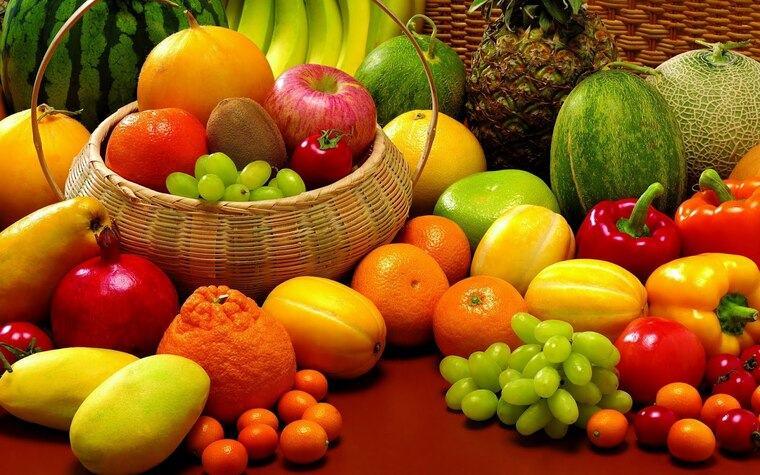 saludable ricas frutas