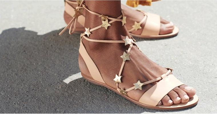 sandalias cómodas