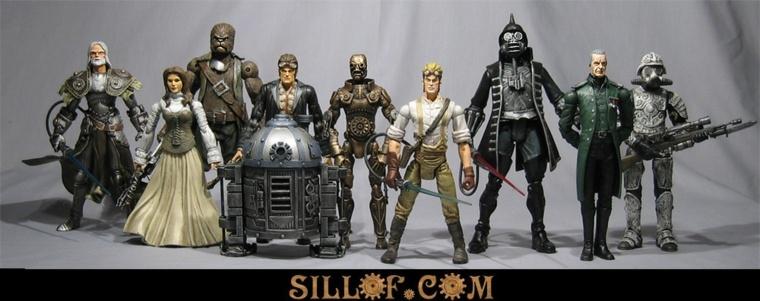 Star Wars version Steam Punk de Sillof