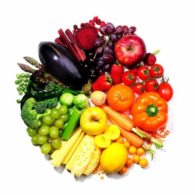alimentarse con colores