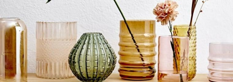 tarros decorativos de vidrio