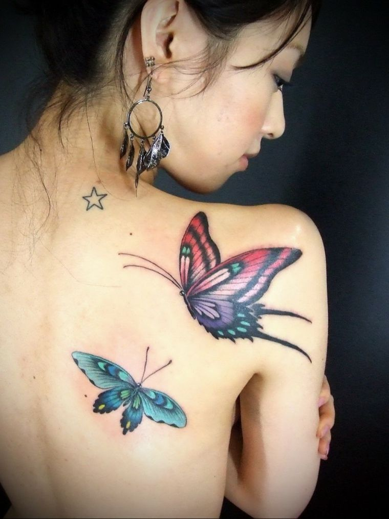 tatuajes-colores-mariposa-grandes-idea-original-tattoo