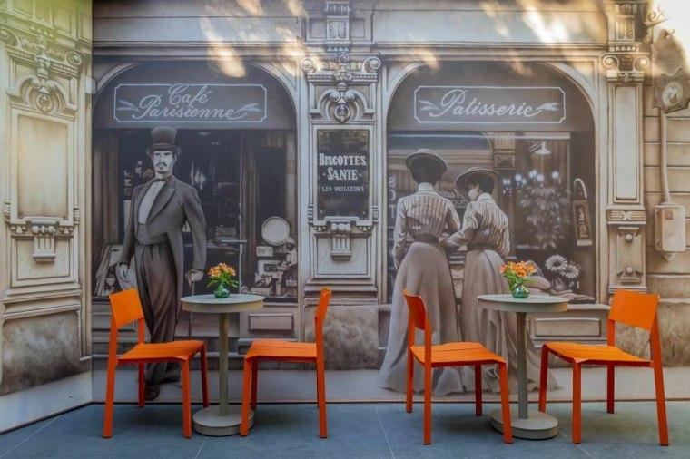 Terraza de cafeteria en CASACOR 2019
