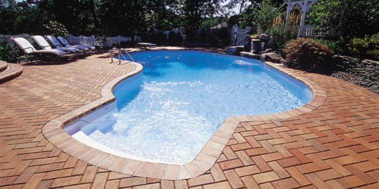 siluetas de piscinas