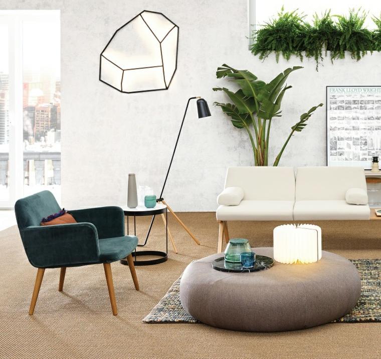 muebles de materiales naturales