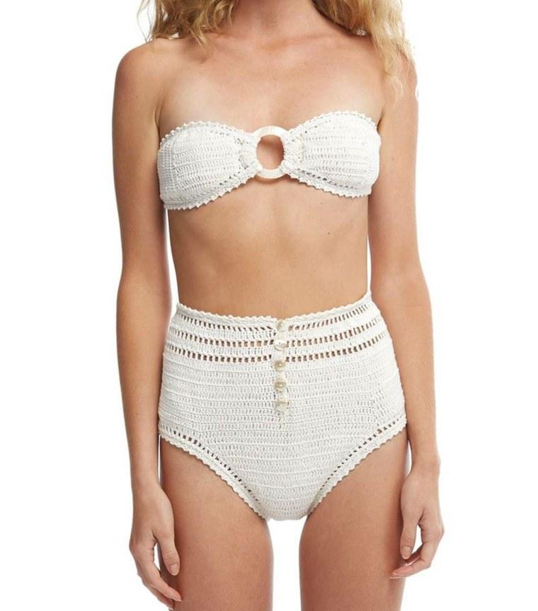 crochet algodon blanco