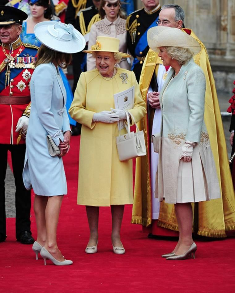 Vestidos de Reina - Inglaterra