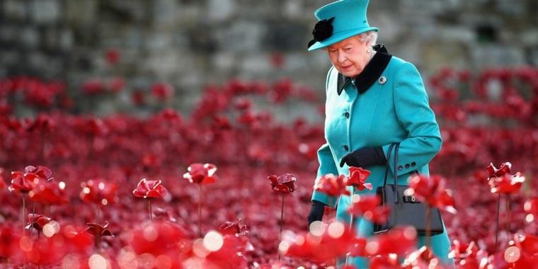 Vestidos de Reinas - Isabel de Inglaterra