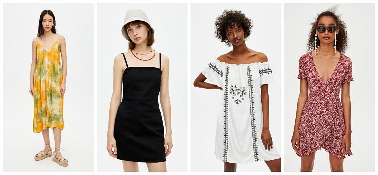 Los Vestidos Más Chic De Pullbear Para Este Verano