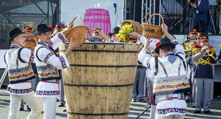 festival del vino Moldavia