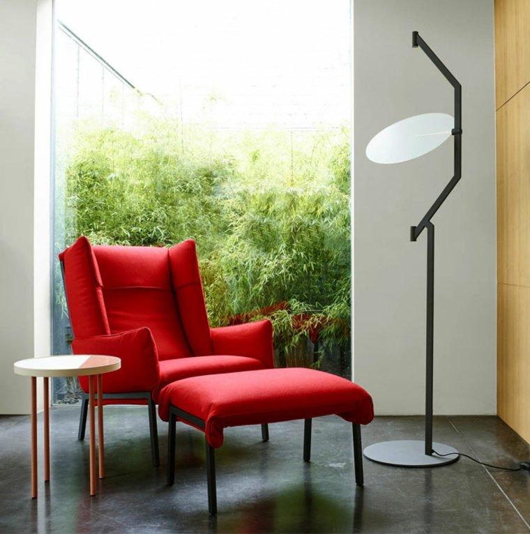 sillón rojo