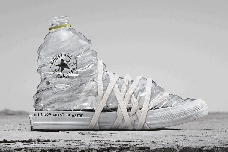 zapatillas de Converse-hechas-materiales-reciclados