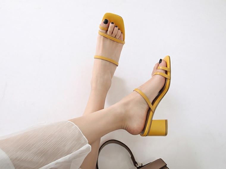 Las sandalias cómodas