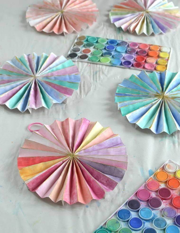 ruedas de papel