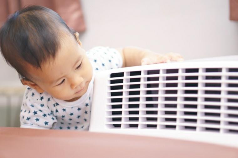 climatizador de aire en casa