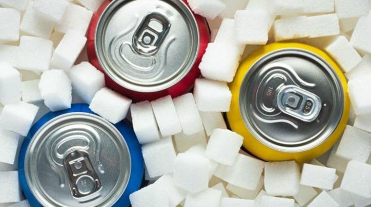bebidas con demasiada azúcar