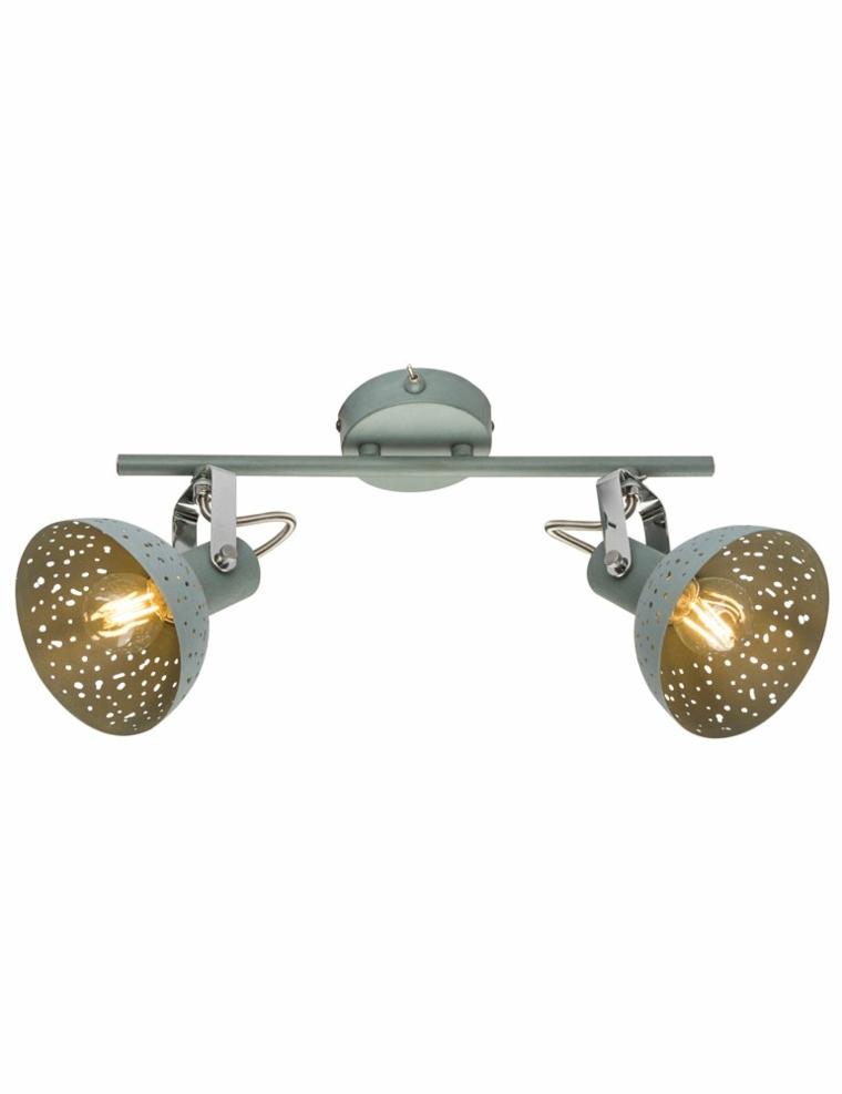 lámpara de techo de estilo industrial