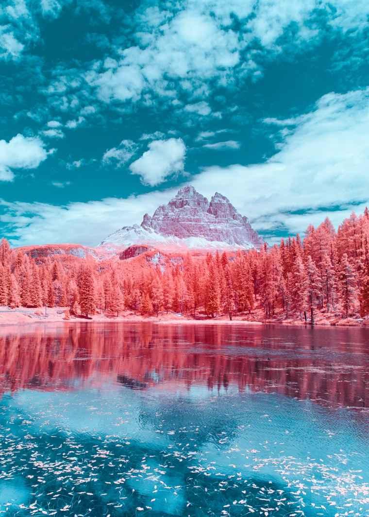 paisajes en infrarrojos