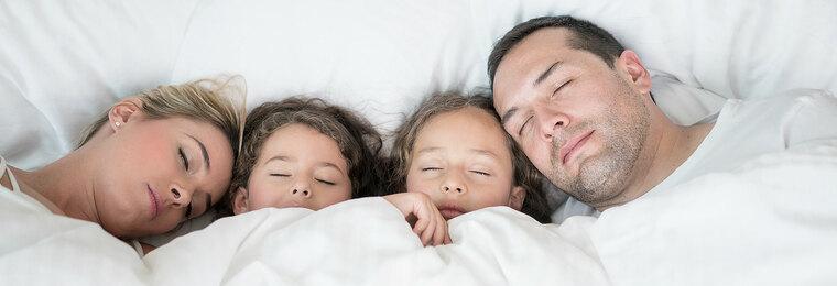 buen descanso familia
