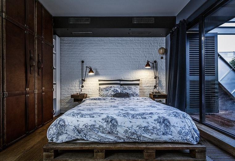 cama-diseno-rustico-ideas