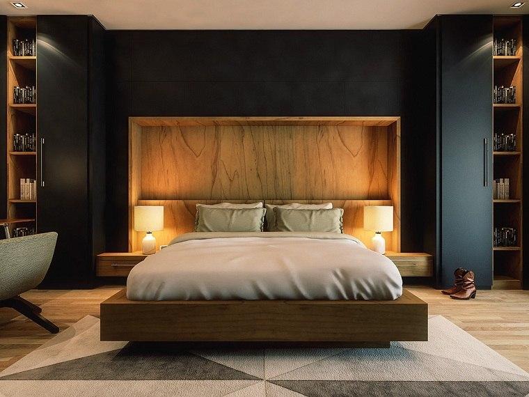 cama-madera-dormitorio-moderno