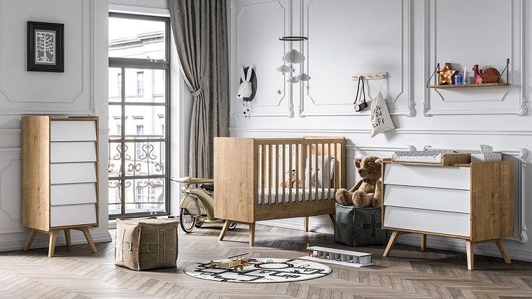 camas-para-bebes-recien-nacidos-madera