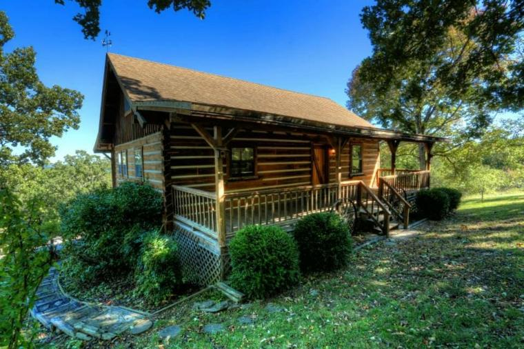 ¿Cuál es la diferencia entre una cabaña y una casa?