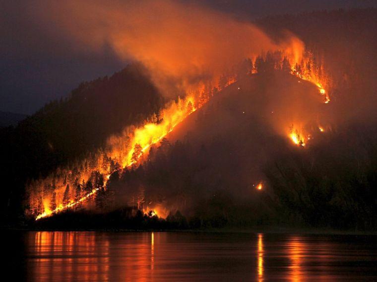 causas de los incendios forestales incontrol