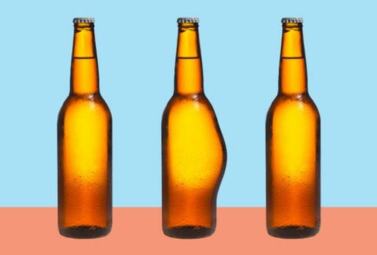 cerveza con barriga